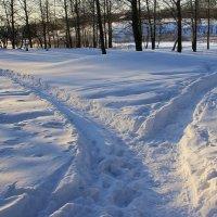 Две  дороги,  два  пути.... :: Валерия  Полещикова