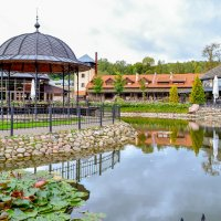 Парк в Вильнюсе :: Лёша