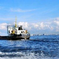 Финский залив. Линейное судно река-море :: Еварина К.