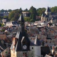 Крыши средневековой Франции :: Елена Даньшина