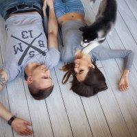 Алина и Саша и малышка Лута :: Лина Ванил