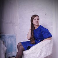 Синий :: Катя Романова