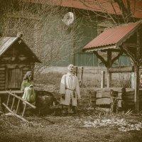 Баба Яга, Путин и тот самый мальчик) :: melnikofff Мельников