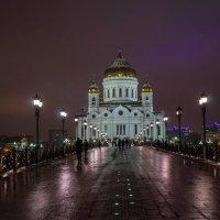 Вечер на Патриаршем мосту... :: Ольга Маркович