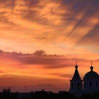 Кровавый закат... :: Райская птица Бородина