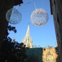 Новогодний декор Барселоны :: Irina @