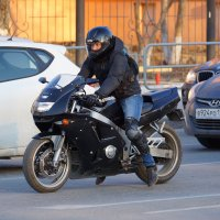 На светофоре :: Виктор Прохоренко