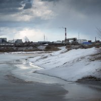 Тучи над городом встали... :: Sergey Apinis