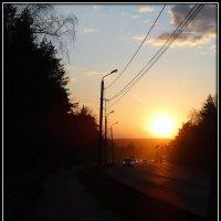 закат :: Натали Акшинцева