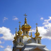 Дворцовая церковь в Петергофе. :: Елена