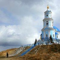 Храм Казанской иконы Божией Матери в п. Тельма :: Алексей Белик