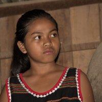Девушка из племени мнонгов, Вьетнам :: Елена