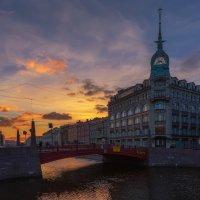 Красный мост и дом Эсдерса и Схефальса :: Владимир Колесников