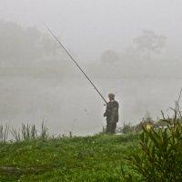 рыбалка туманным утром :: Елена