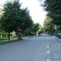 Улица  Матейки  в  Ивано - Франковске :: Андрей  Васильевич Коляскин