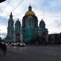 Елоховский Богоявленский собор.......... вечером :: Галина R...