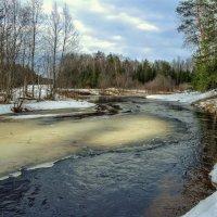 Апрель. Вскрытие рек... :: Федор Кованский