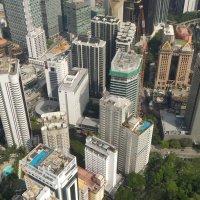Куала-Лумпур с высоты птичьего полета :: Елена Смолова