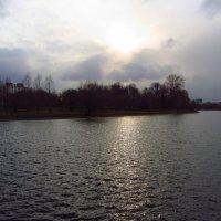 IMG_5611 - Неяркий закат :: Андрей Лукьянов