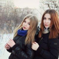 Анна и Наташа :: Marina Shakhova