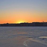 Солнце встает над Невой. :: vkosin2012 Косинова Валентина