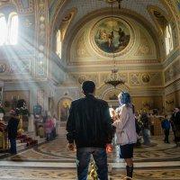 Свято-Владимирский собор, Херсонес. Праздник Светлого Христова Воскресения. :: Александр Гапоненко