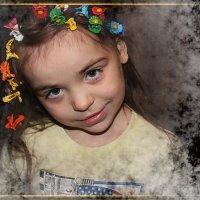 День со счастья начинается,  Счастье встало раньше всех!  Счастье маме улыбается! :: Людмила Богданова (Скачко)