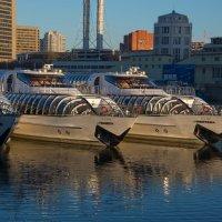 кораблики улыбаются утреннему солнышку :: Svetlana AS