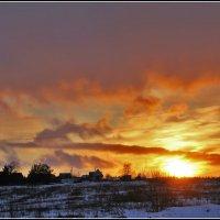 пламенеющие небеса :: Дмитрий Анцыферов