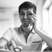 Антон и монокль- сушка :: Лолита Ташпулатова