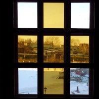 Вид из окна храма. :: Олег Дейнега