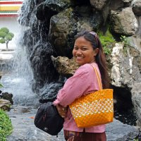 Таиланд. Бангкок. У храма По. Приятная прохлада :: Владимир Шибинский