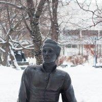 Лермонтов в снегу :: Ирина