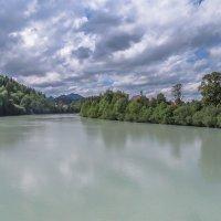 река Лех с бирюзовой водой :: Сергей Цветков