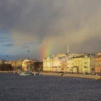 Радуга в облаках :: Наталья Левина