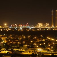 ночной город Ашкелон :: Ефим Журбин