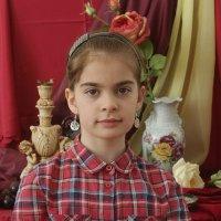 портрет с натюрмортом :: Александр Корнелюк