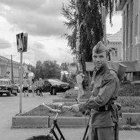 ретро-велосипед - тоже техника :: Galina