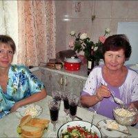 Дочки-матери. Домашние посиделки :: Нина Корешкова