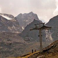 горы - Талгарский перевал :: Горный турист Иван Иванов
