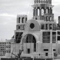 строительство храма в городе Салехард :: Алена Дегтярёва