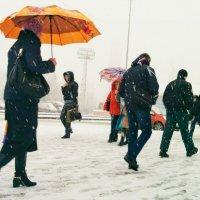 ...весенний снегопад :: Сергей Андрейчук