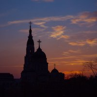 Очередной закат и Благовещенский собор :) :: Алексей Гончаров