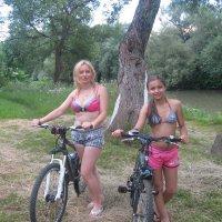 с дочкой на велопрогулке :: НаталиЯ ***
