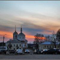 вечер в Боровске :: Дмитрий Анцыферов