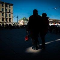 Красное на черном :: Антон Смульский