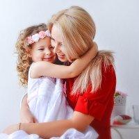 с любимой мамочкой :: Любовь Белугина