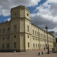 Большой Гатчинский дворец (фрагмент). :: ТАТЬЯНА (tatik)