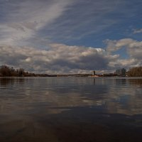 Апрель на озере :: Юрий Цыплятников