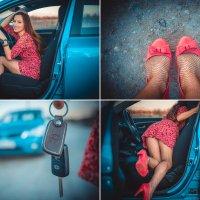 Хочется уже ,чтобы наступило лето! Короткие юбки,каблуки и вся жизнь впереди!!! :: Галина Мещерякова